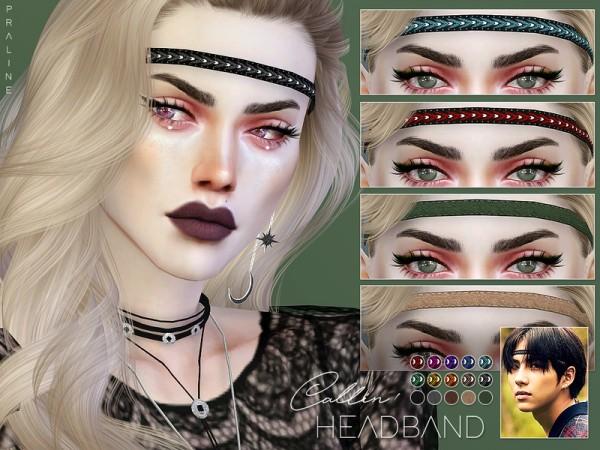 The Sims Resource: Callin Headband by Pralinesims
