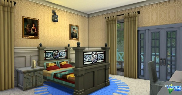 Luniversims: Blue Rivage by Coco Simy