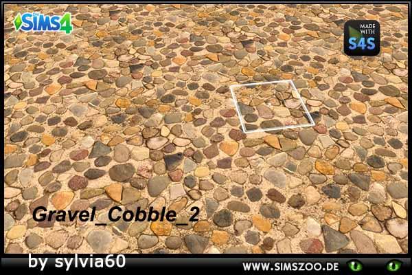 Blackys Sims 4 Zoo: Gravel Cobble 2 by sylvia60