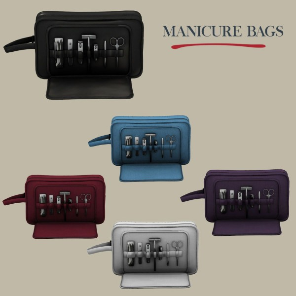 Leo 4 Sims: Manicure Bags