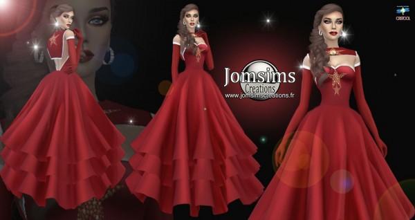 Jom Sims Creations: Miss christmas dress