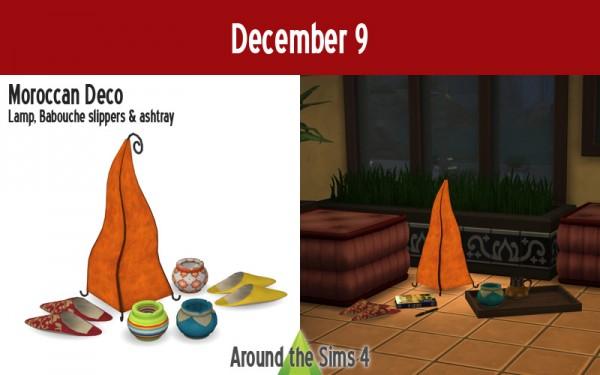 Around The Sims 4: Maroccan decor