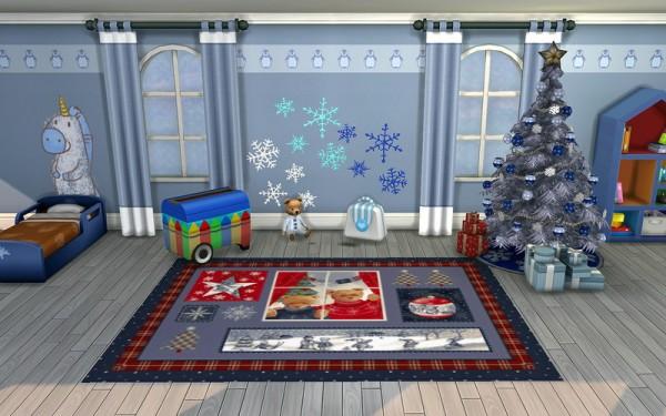 Ihelen Sims: Winter rugs