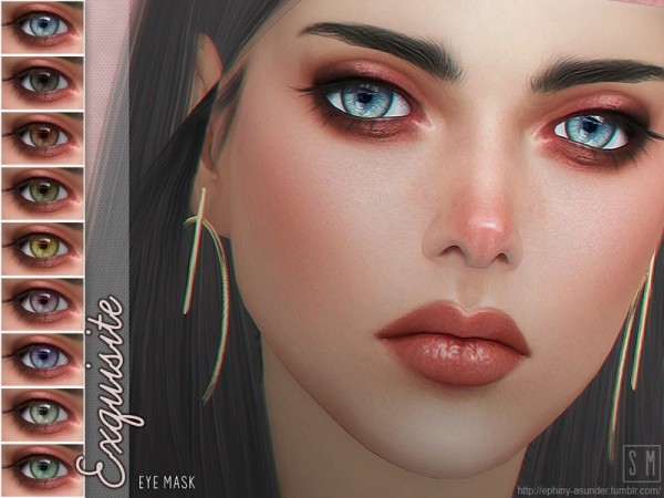 The Sims Resource: Exquisite    Eye Mask by Screaming Mustard