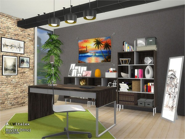 The Sims Resource: Revere Office by ArtVitalex