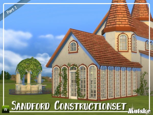 The Sims Resource: Sandford Constructionset part 1 by mutske