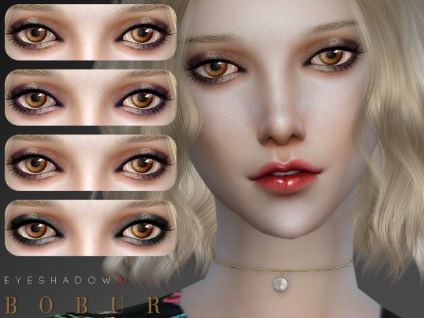 The Sims Resource: Eyeshadow 20 by Bobur