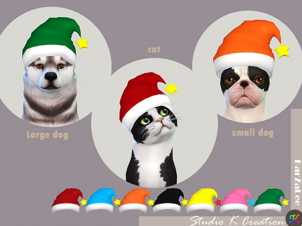 Studio K Creation: Christmas hat for pet
