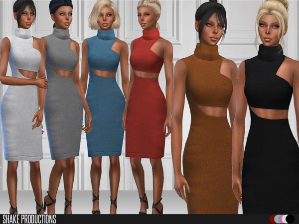 The Sims Resource: Dress 87 by ShakeProductions