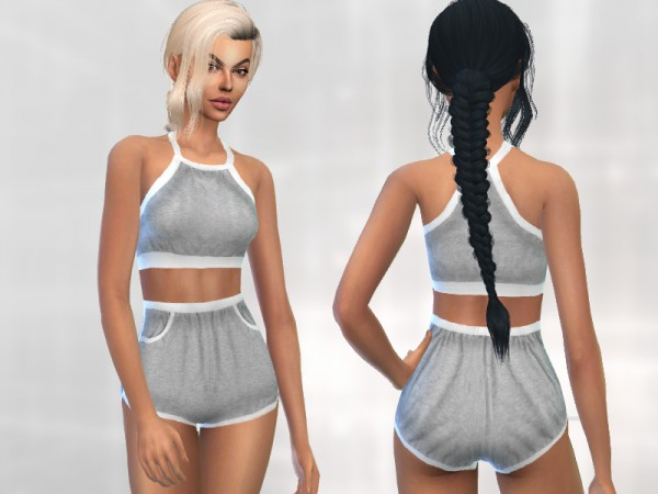 The Sims Resource: Activewear Outfit by Puresim