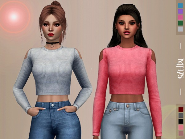 The Sims Resource: Karana Top by Margeh 75
