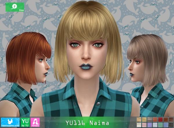 NewSea: YU116 Naima free hairstyle
