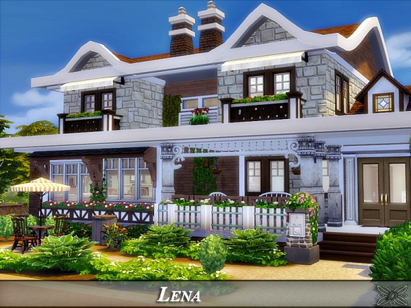 The Sims Resource: Lena house by Danuta720