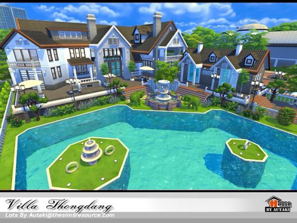 The Sims Resource: Villa Thangdang NoCC  by Autaki