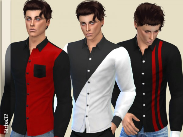 The Sims Resource: Christmas shirts by Birba32