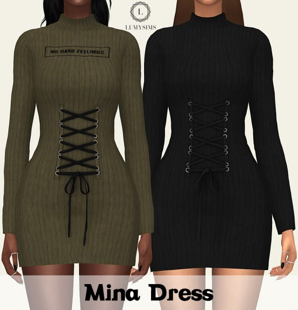 LumySims: Mina dress