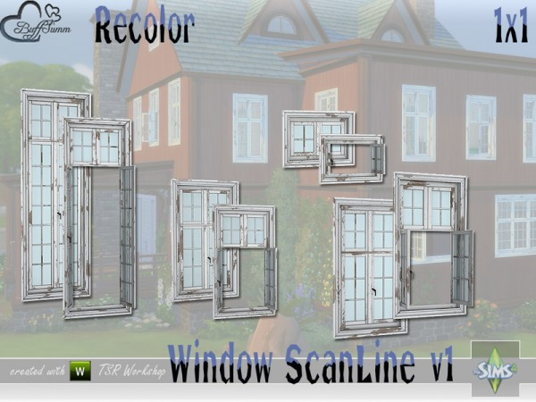 The Sims Resource: WindowSet ScanLine windows by BuffSumm