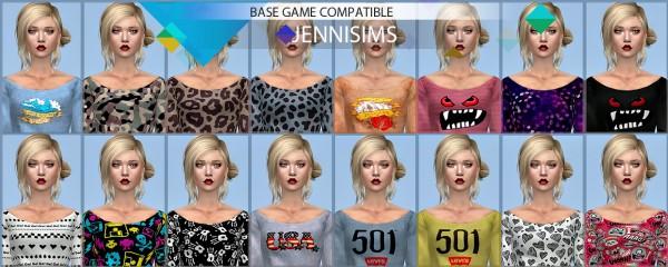 Jenni Sims: :Base Game compatible Top