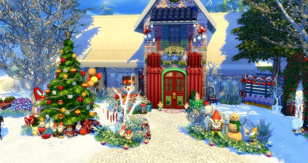Studio Sims Creation: Neige house