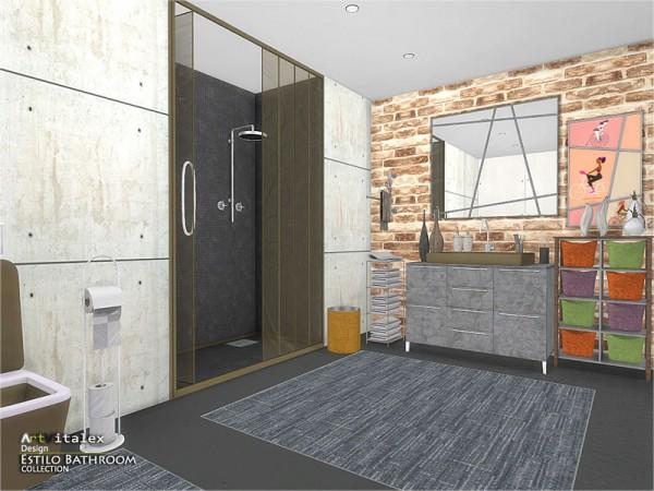 The Sims Resource: Estilo Bathroom by ArtVitalex