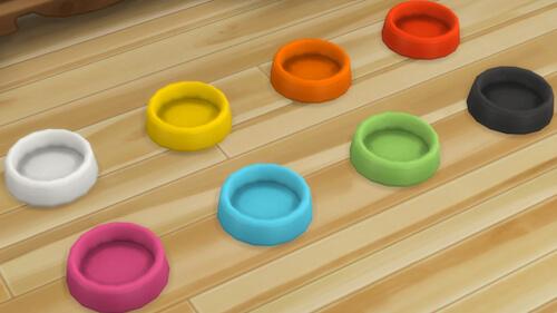 La Luna Rossa Sims Cheap Food Bowl For Pets Sims 4