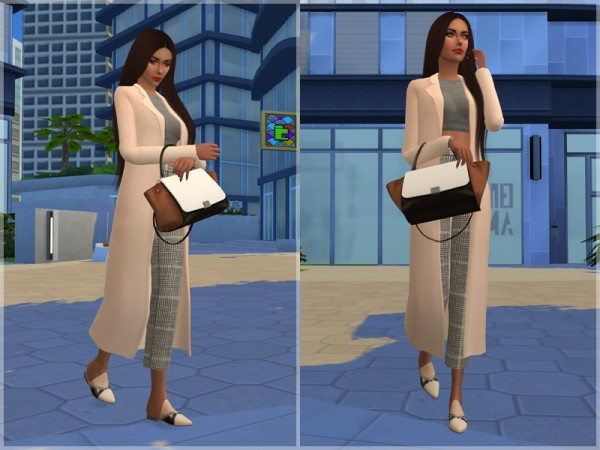 The Sims Resource: Adele Studded Slippers by feyona
