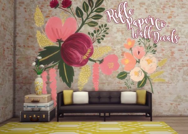 Hamburgercakes: Rifle Paper Co. Wall Decals