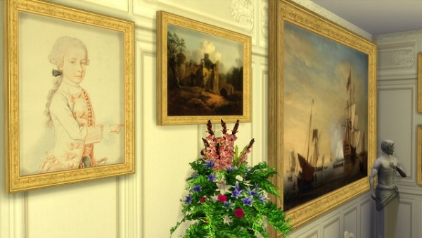 Regal Sims: Various 18th Century Paintings