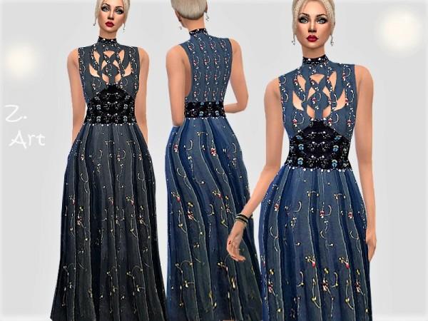 The Sims Resource: VintageZ. 11 dress by Zuckerschnute20