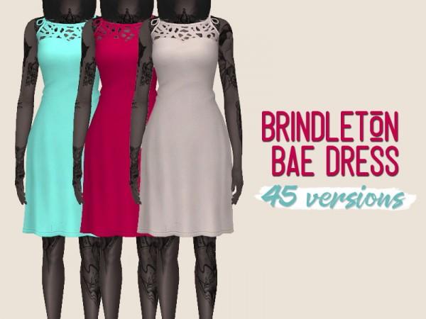 Simsworkshop: Brindleton Bae Dress by midnightskysims