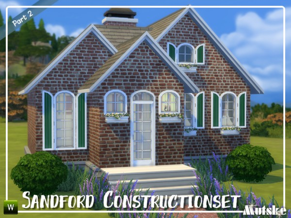 The Sims Resource: Sandford Construction set part 2 by mutske