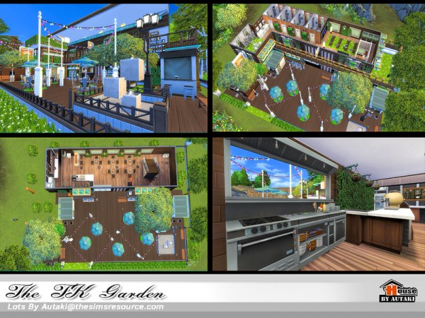 The Sims Resource: The TK Garden NoCC by Autaki