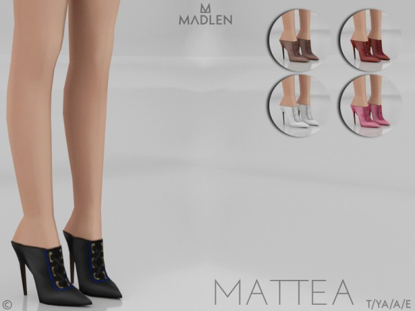 The Sims Resource: Madlen Mattea Shoes by MJ95