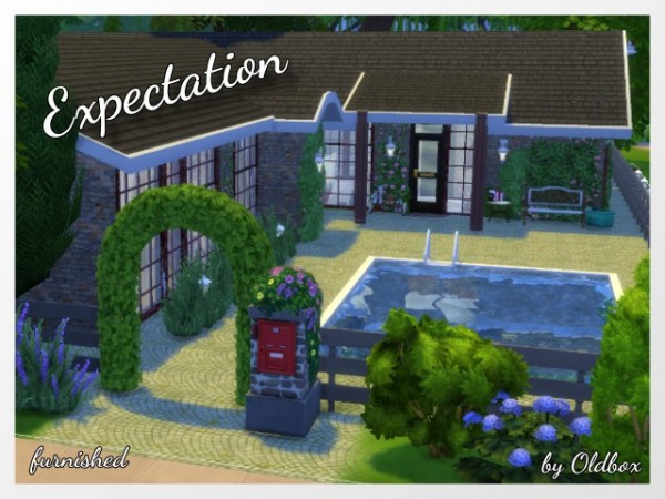 All4Sims: Expectation house by Oldbox