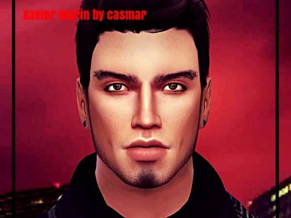 The Sims Resource: Xavier Marin by casmar