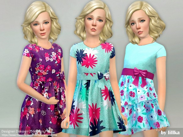 The Sims Resource: Designer Dresses Collection P95 by lillka