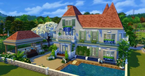 Studio Sims Creation: Hampton house