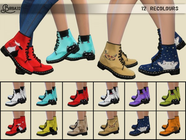 The Sims Resource: Kitty shoes by Birba32