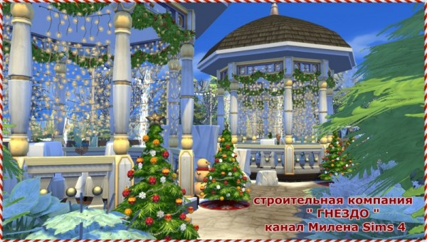 Sims 3 by Mulena: Church for the wedding