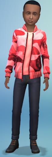 Simsworkshop: Boys Camo Jackets by Fruitcakesimmer