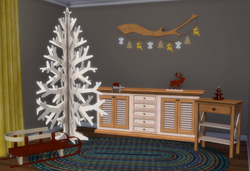 Chillis Sims: X Mas Furniture and Deko