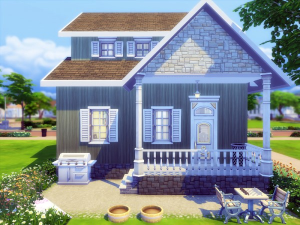 The Sims Resource: Waterford Cottage by Degera
