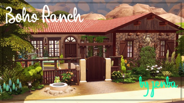 Jenba Sims: Boho Ranch