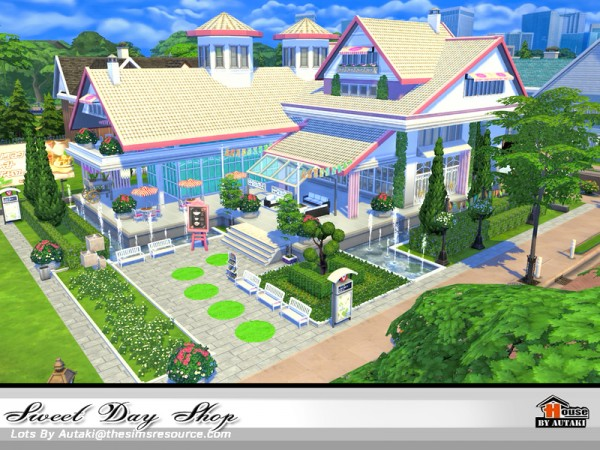 The Sims Resource: Sweet Day Shop by autaki