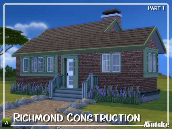 The Sims Resource: Richmond Construction set Part 1 by mutske