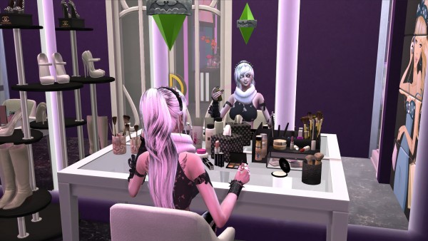 Mod The Sims: Vampire Reflection Enabled by RevyRei