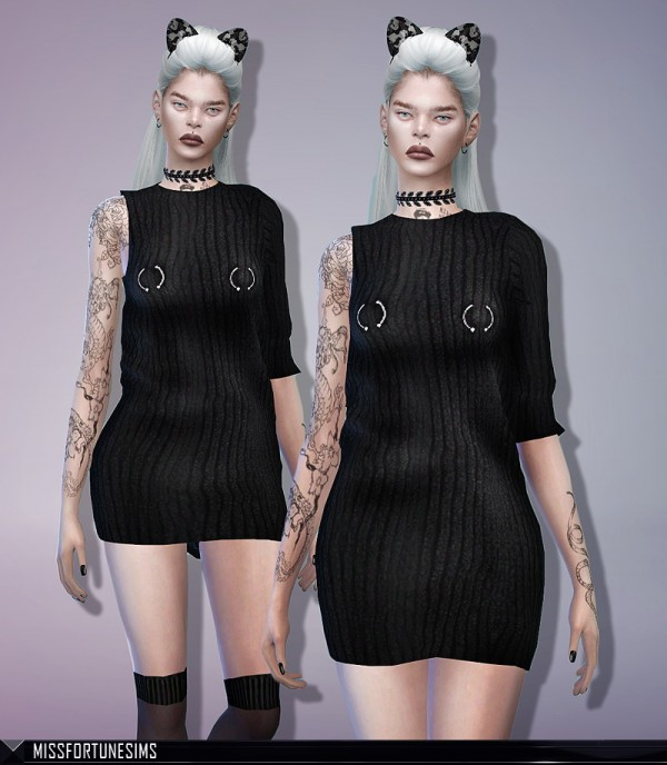 MissFortune Sims: MFS Sylvie Dress