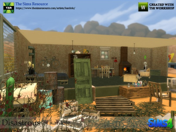 The Sims Resource: Disastrous by Kardofe