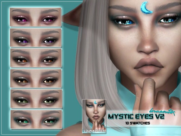 The Sims Resource: Mystic Eyes V2 by Louna