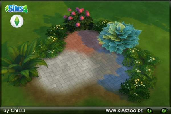 Blackys Sims 4 Zoo: Terrain Stone 1 by Schnattchen